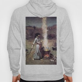 THE MAGIC CIRCLE - JOHN WILLIAM WATERHOUSE Hoody