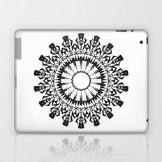 No Way Black Laptop & iPad Skin