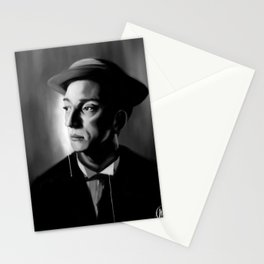 Silent Man Stationery Cards