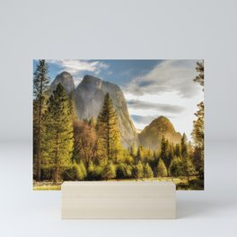 Morning Glow -- View From a Yosemite Meadow Mini Art Print
