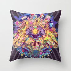 Infinite sun Throw Pillow