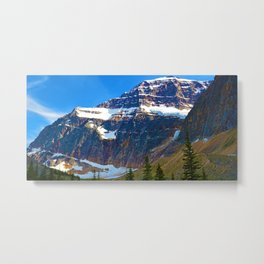 Mt. Edith Cavell in Jasper National Park, Canada Metal Print