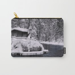 Winter In Lapland Finland Carry-All Pouch