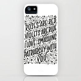 Smashing Patriarchy iPhone Case