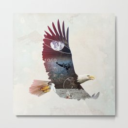 The Eagle Metal Print