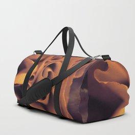 Orange rose Duffle Bag