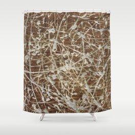 Card-Bored Shower Curtain