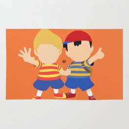 Ness&Lucas(Smash)Orange Rug