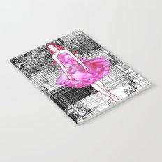 My rose dress fashion illustration concept. Notebook
