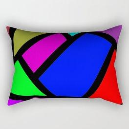 Suit modern abstract Rectangular Pillow