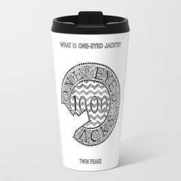 Twin Peas - One Eyed Jack's Chip Travel Mug