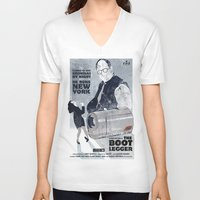 seinfeld V-neck T-shirts featuring For Seinfeld Fans by Alain Cheung