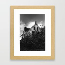 House but Not a Home Framed Art Print