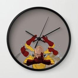 Saitama Jutsu Wall Clock