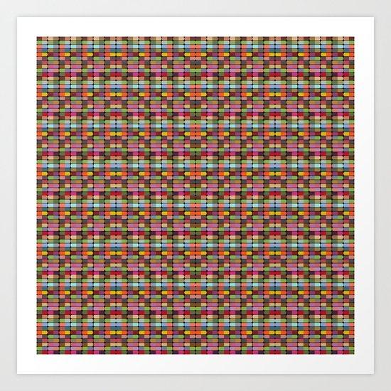 Pattern #32 Art Print
