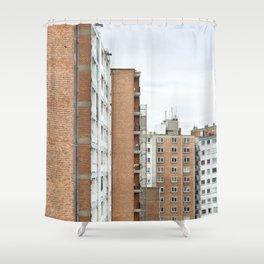 City Of Bricks Shower Curtain