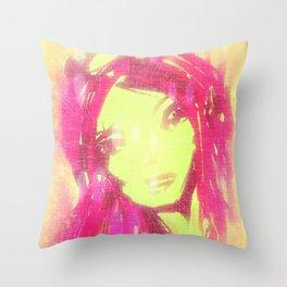 pink1 Throw Pillow