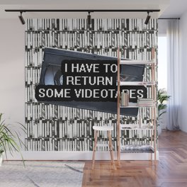Videotapes Wall Mural