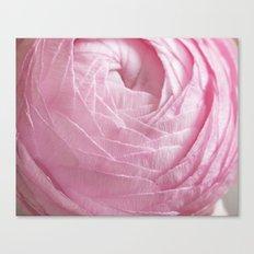 Floral Strata Canvas Print