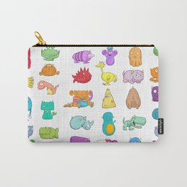 Furrry Monsters Carry-All Pouch