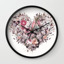 Momento Mori VIII Wall Clock