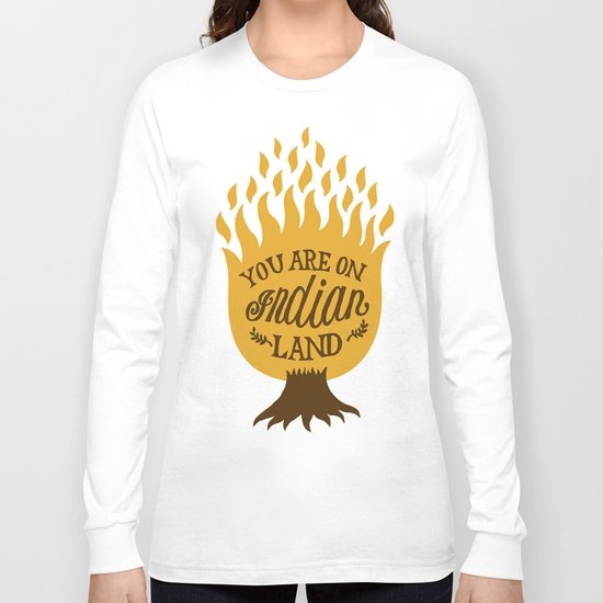 Take Off Your Shoes Long Sleeve T-shirt