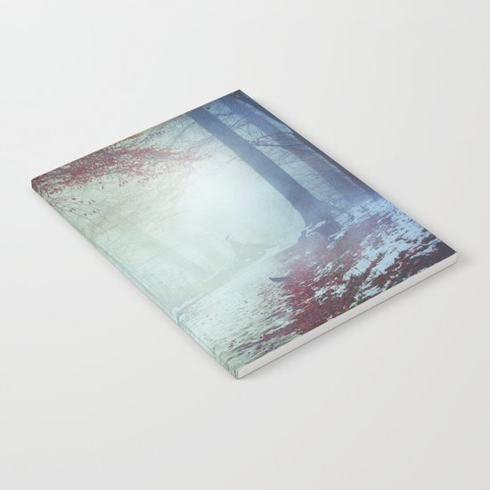 Snow Glow Notebook
