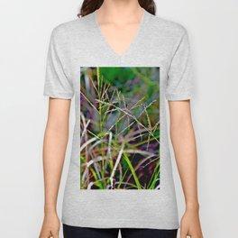 Dance of Grasses Unisex V-Neck
