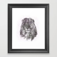 Lion Just Wants to have Fun Framed Art Print