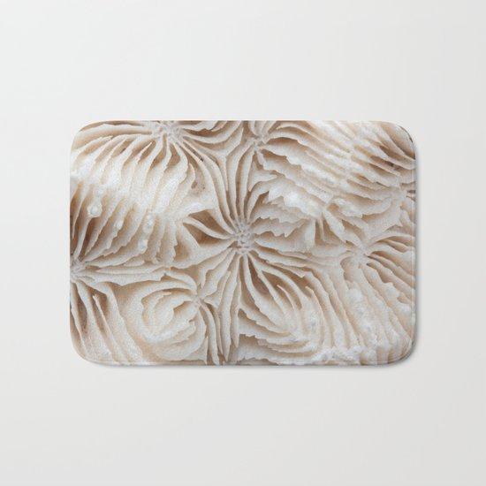 Coral Pattern Bath Mat