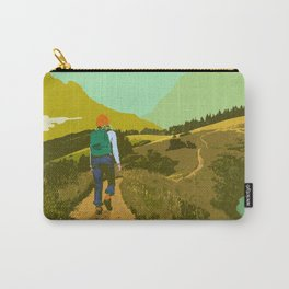 WARM TRAILS Carry-All Pouch
