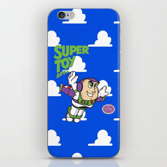 Super Toy Bros. iPhone & iPod Skin