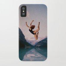Falling Slim Case iPhone X