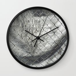 Relax and Breathe I Wall Clock