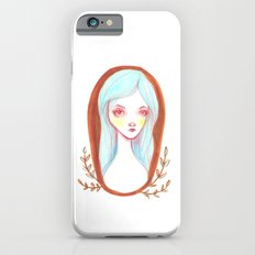 Blue Haired Forest Nymph iPhone 6s Slim Case