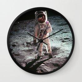 Moon landing 4 Wall Clock