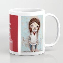 Big Sweater- by Diane Duda Coffee Mug