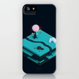 Earth Sandwich One, Variant C iPhone Case