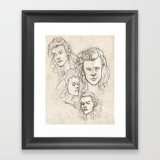 Harries Framed Art Print
