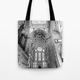 York Minster Art Sketch Tote Bag
