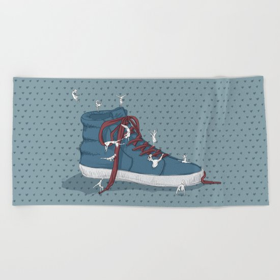Where are you going? Beach Towel