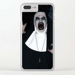 Valak Screaming Clear iPhone Case