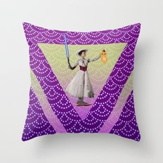 Mary for Ryma ! Throw Pillow