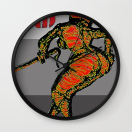 HUSTLE AND FORM Wall Clock