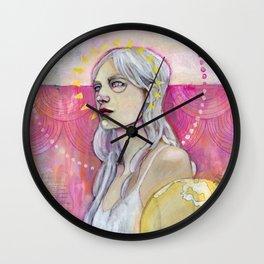 Artemis Pondering Wall Clock