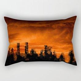 The End of Days Rectangular Pillow
