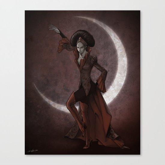 Queen Invidia Canvas Print