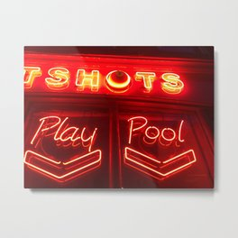 Neon picture Metal Print