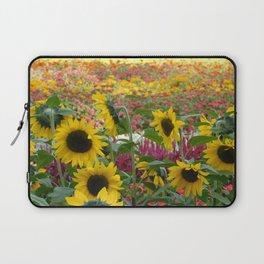 Sunflower Fields Laptop Sleeve