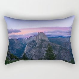 Yosemite National Park at Sunset Rectangular Pillow
